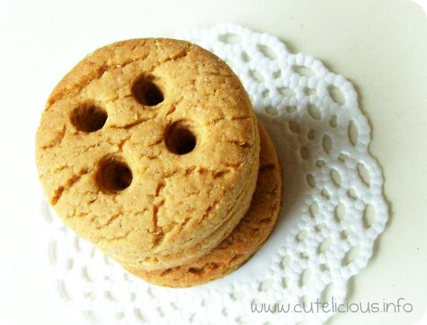 Knopf-Lebkuchen-Kekse ... mit Rezept