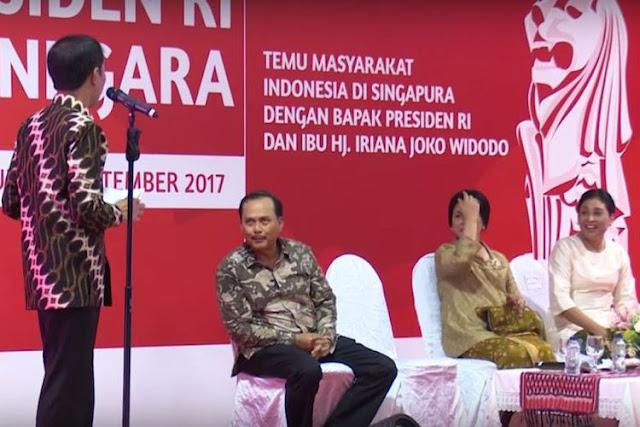 Saat Kode Iriana Gagal Ditangkap  Jokowi...