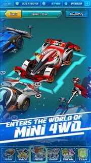 Tamiya Mini Legend MOD v2.0.0. Apk (English Version + Unlimited Money) Auto Win/Always Win Update Terbaru 2016 2