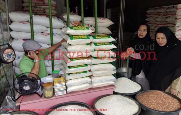 dppkp kota cirebon sidak beras ke pasar kanoman