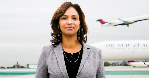 Deborah Flint, CEO of the LAX Airport