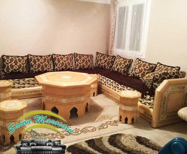 Nouveau Salon Marocain ~ Idées Novatrices de la Conception et du ...