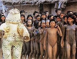 """Possíveis interações ancestrais humanas com seres """"de fora"""" 2"""