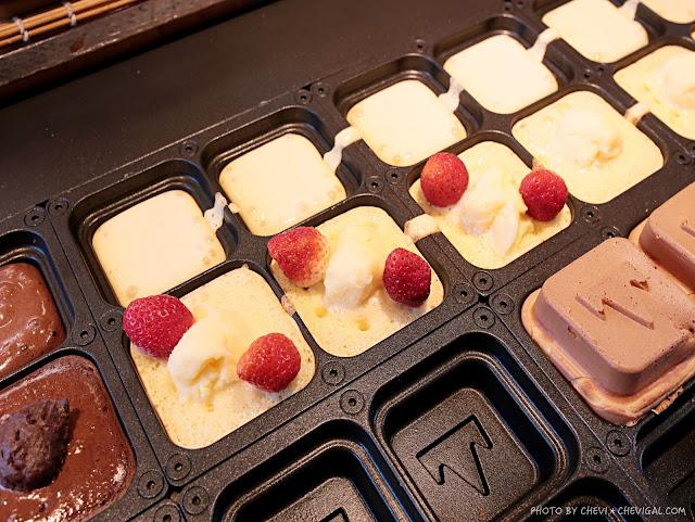 IMG 0848 - 台中霧峰│小山記日式方塊燒。你有吃過正方形的紅豆餅嗎?一週只有兩天在台中,還有季節限定的草莓口味唷!