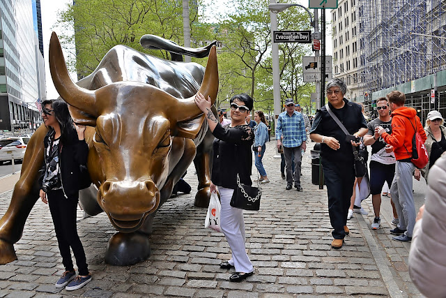 new york, Charging Bull, Wall Street (2)