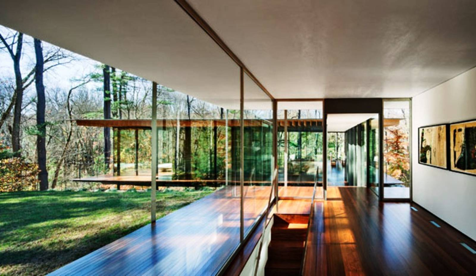 architecture now and The Future GLASSWOOD HOUSE BY KENGO KUMA