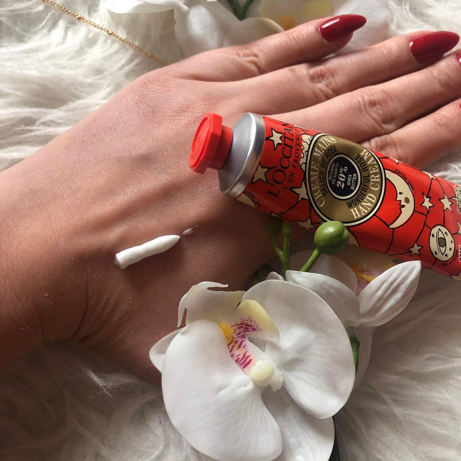 L'OCCITANE SHEA WONDERFUL ROSE HAND CREAM - Kram do rąk 20% masła Shea - Róża
