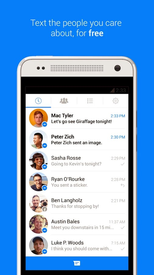 Facebook Messenger v86.0.0.2.70