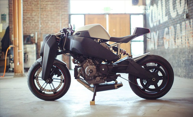 RONIN 47, the futuristic motorcycle