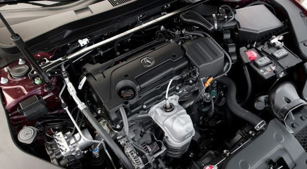2017 Acura TLX Engine