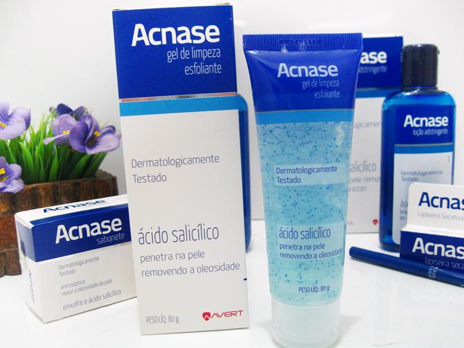 Gel de Limpeza Facial Esfoliante Acnase
