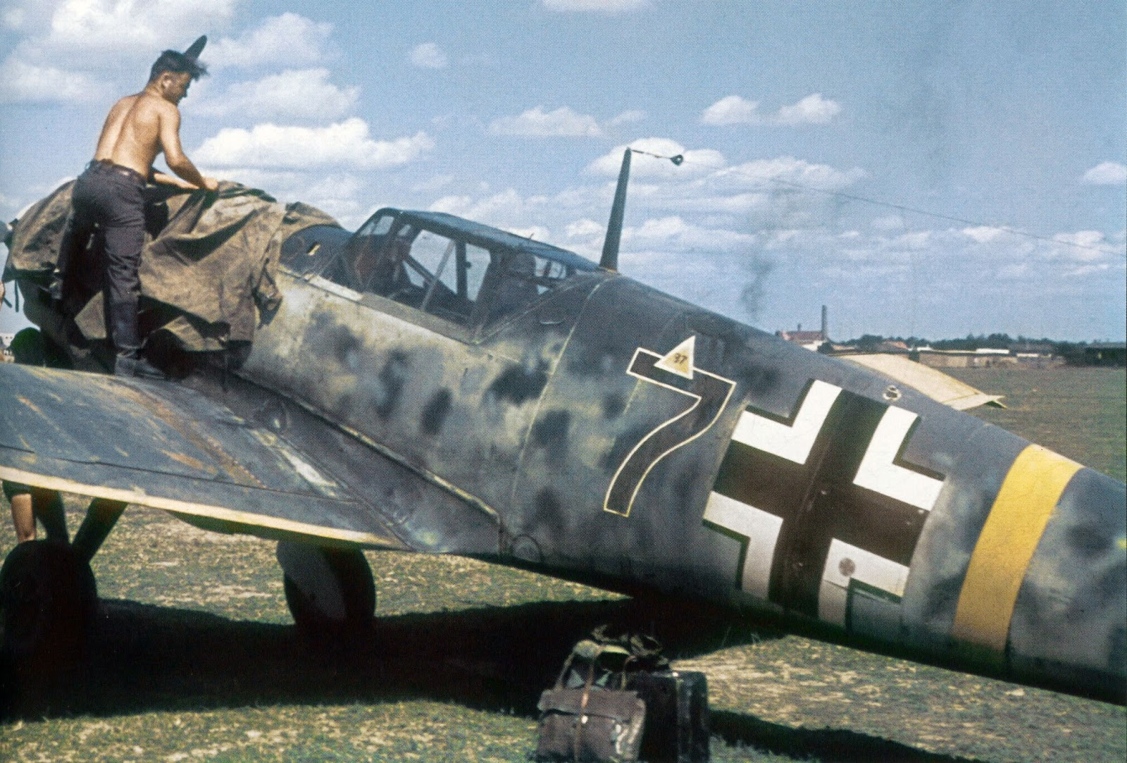 Third Reich Color Pictures: Messerschmitt Bf 109 in Color