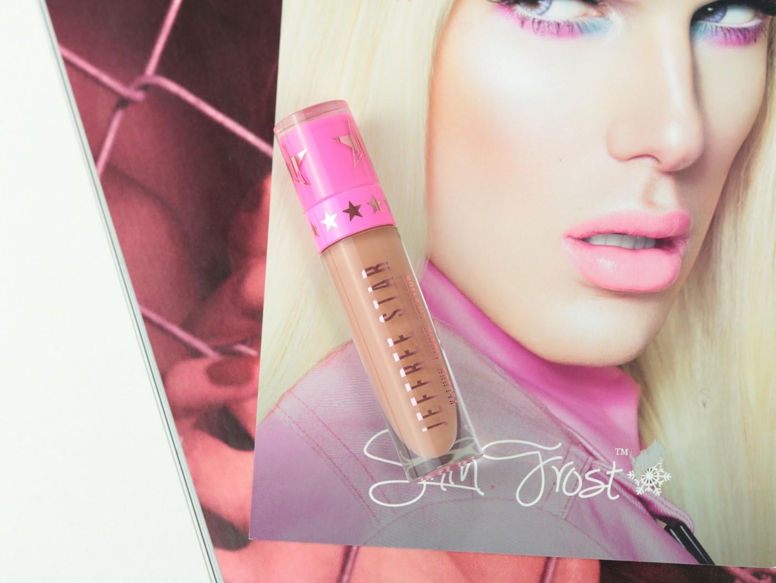 Les Velour Liquid Lipsticks de Jeffree Star  Mannequin swatch
