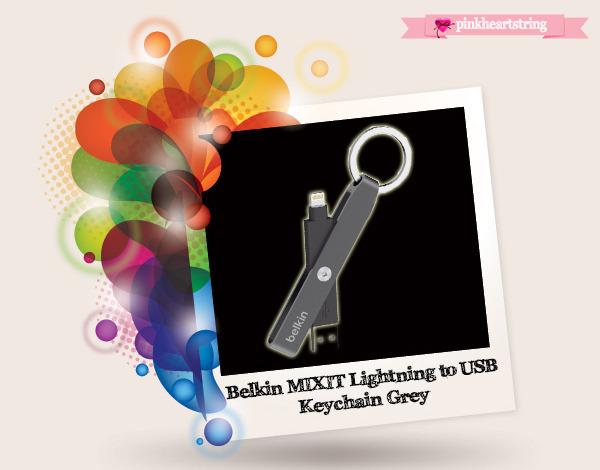 Belkin MIXIT Lightning to USB Keychain