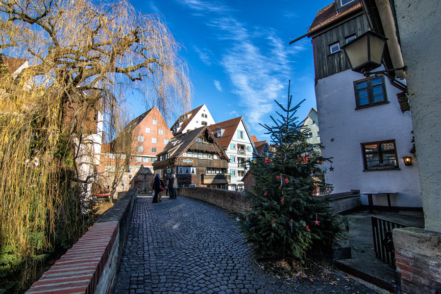 Barrio de pescadores de Ulm, Alemania