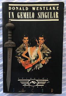 Portada del libro Un gemelo singular, de Donald Westlake