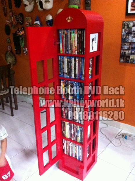 Telephone Booth Dvd Storage
