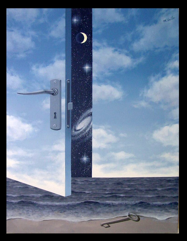 01-Metaphysic-Door-Mihai-Criste-Symbology-and-Imagination-in-Surreal-Paintings-www-designstack-co