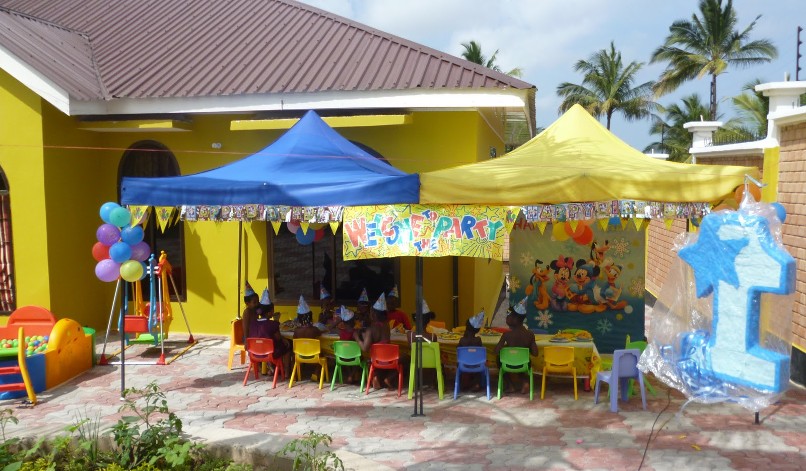 Mickey Mouse Birthday Party GOBA