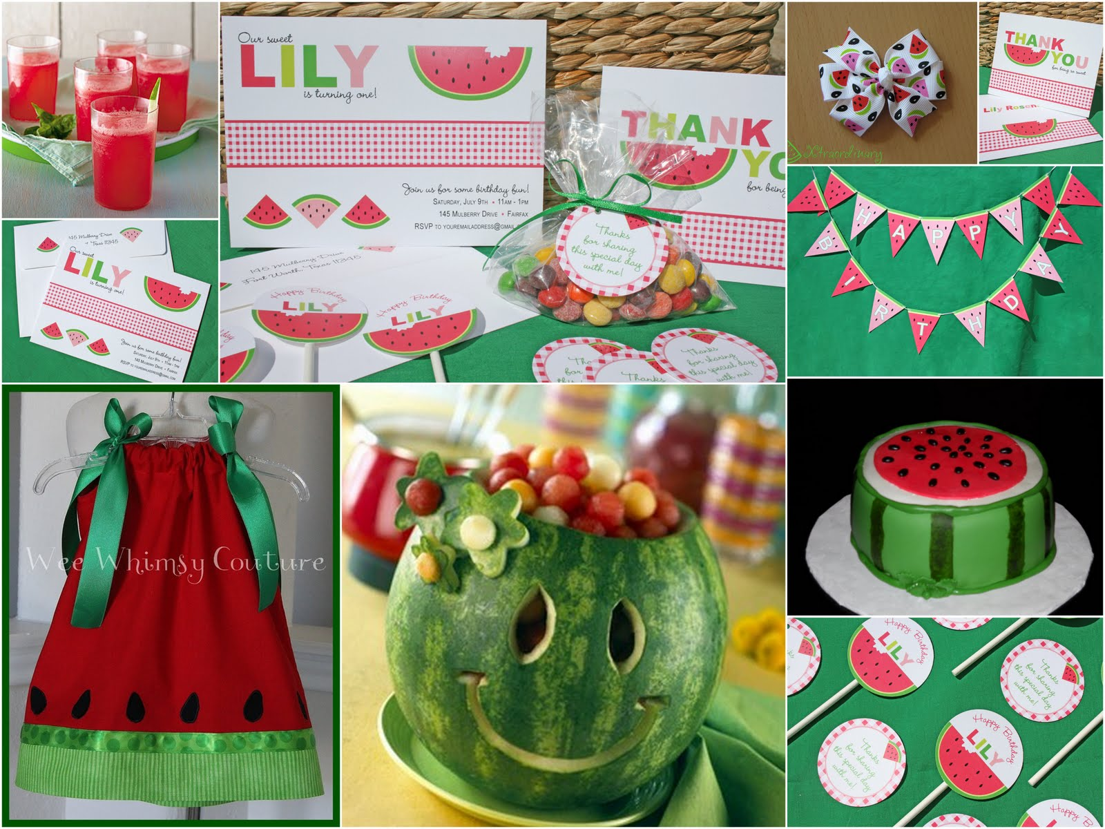#watermelon party ideas