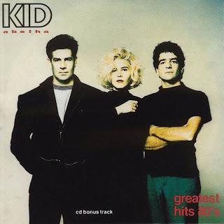 "Capa do disco ""Greatest Hits 80's"", coletânea lançada em 1990 pelo grupo Kid Abelha."