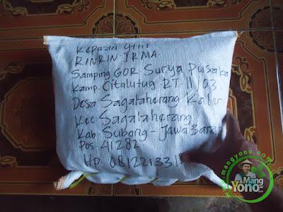 Benih Padi TRISAKTI 75 HST Panen  Pesanan Rinrin Irma Subang, Jabar  sudah meluncur