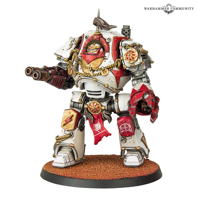 Dreadnought Contemptor Cicatrices Blancas