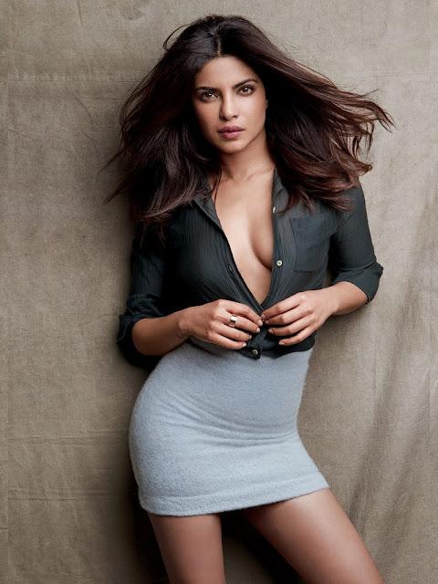 Priyanka Chopra Hot Stills for GQ Magazine 2017 Photoshoot