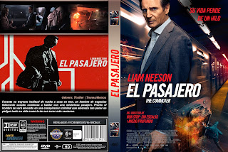 CARATULA EL PASAJERO - THE COMMUTER 2018