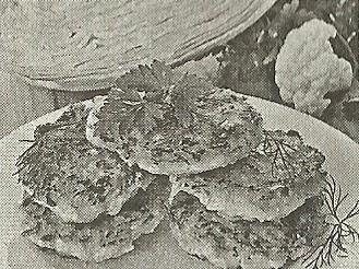 Состав продуктов и способ приготовления капустных котлет с манной крупой