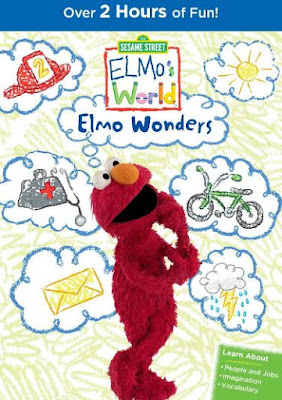Enter Elmo's World: Elmo Wonders DVD Giveaway. Ends 2/14