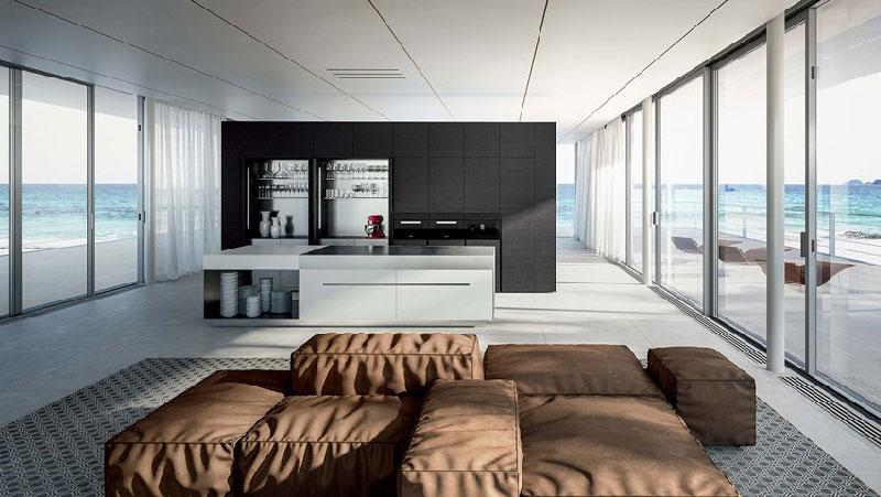 cucina per ambienti open space