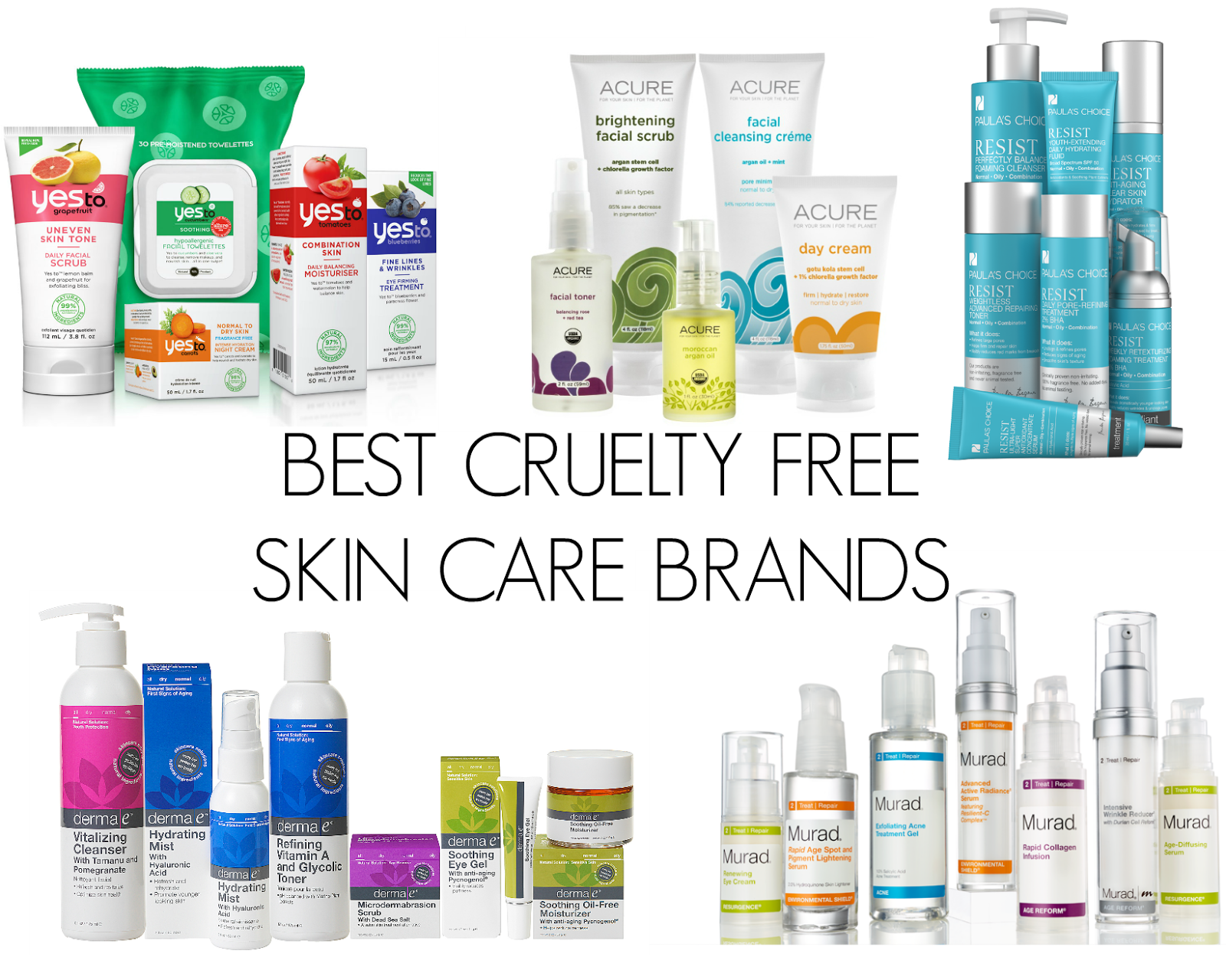 Actress?????\ Best cruelty free facial products Peter gets