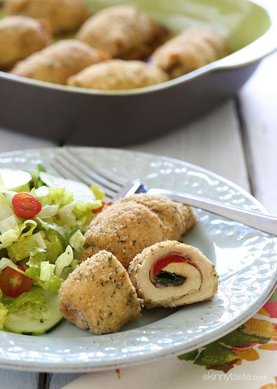 Paleo Apple and Prosciutto Stuffed Chicken Breast