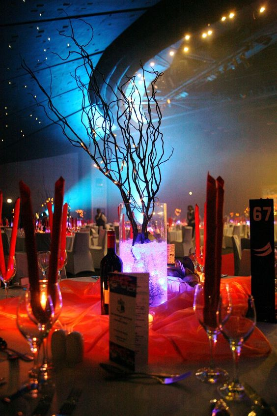 The Krewe of Alegria: Fire and Ice Ball Decoration Prom Themes Fire And Ice