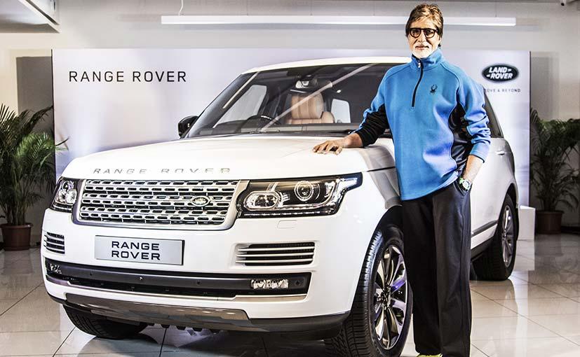 Amitabh Bachchan Range Rover Car