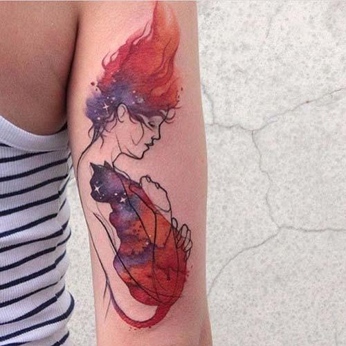 kedi dövmeleri cat tattoos 57
