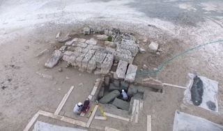 Ancient Biblical city 'destroyed by earthquake 1,400 YEARS ago' found INTACT underwater