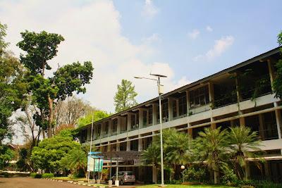 Kampus Fakultan Kehutanan Institut Pertanian Bogor (Fahutan IPB).