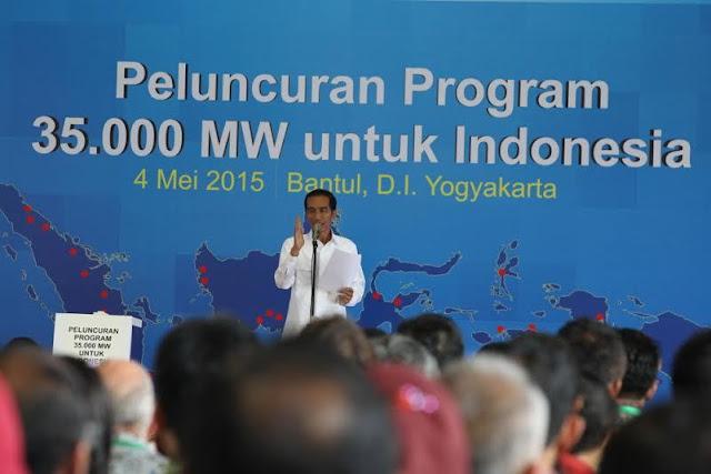 Halo....Apa Kabar Proyek Setrum 35 Ribu MW..?