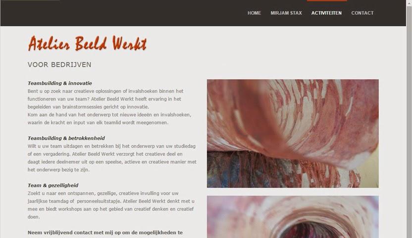 Atelier Beeld Werkt | Mirjam Stax