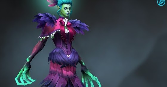 Death Prophet Vesture Of The Unkind Countess Dota 2 Mods