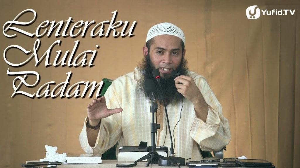 [Download Audio] Kajian Ust. Dr. Syafiq Reza Basalamah MA - Lenteraku Mulai Padam mp3