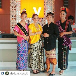 pakaian adat suku sasak desa sade wisata lombok