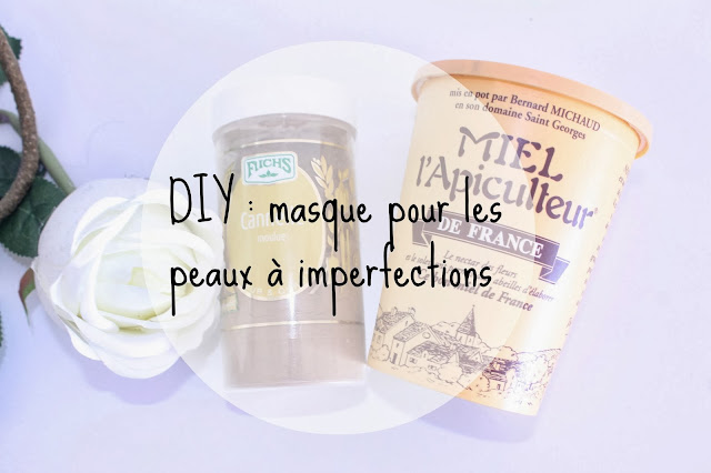 diy un masque fait maison pour les peaux imperfections beautycurls. Black Bedroom Furniture Sets. Home Design Ideas