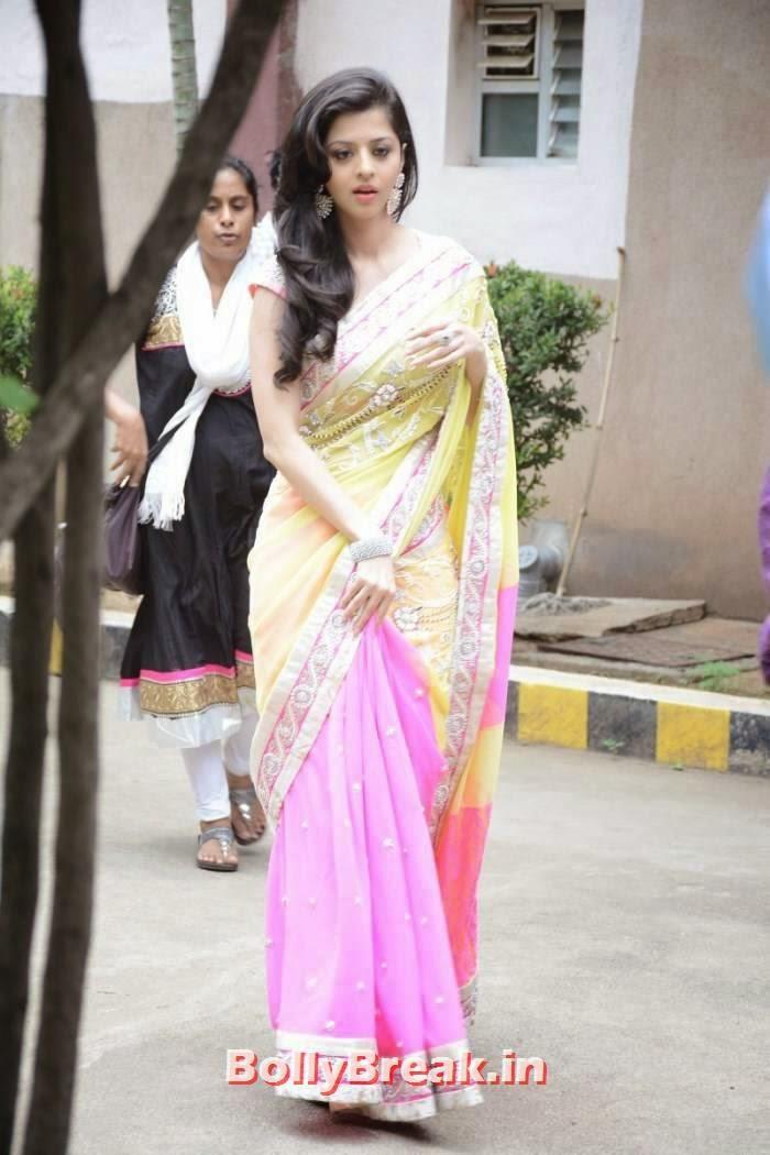 , Vedika Saree Photo Gallery, Vedika hot pics in Saree