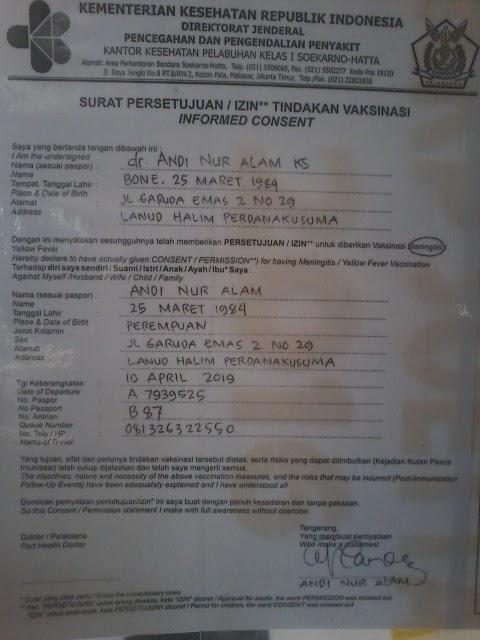 Lissa Rhi Suntik Meningitis Di Kpp Halim Perdana Kusuma