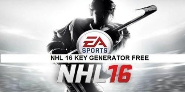 NHL 16 Key Generator,