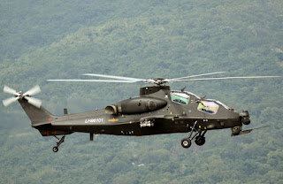 Helikopter Z-10 China dengan Mesin Model Awal