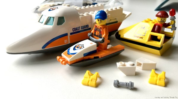 LEGO Sea Rescue Plane